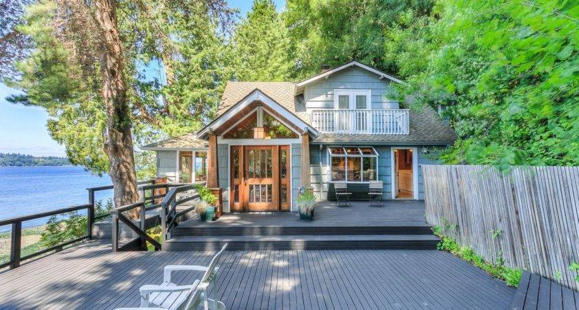 Vashon Beach Cottage Feels Like Your Own Private