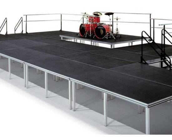 Versalite Portable Stage Platform System Black Cat Music