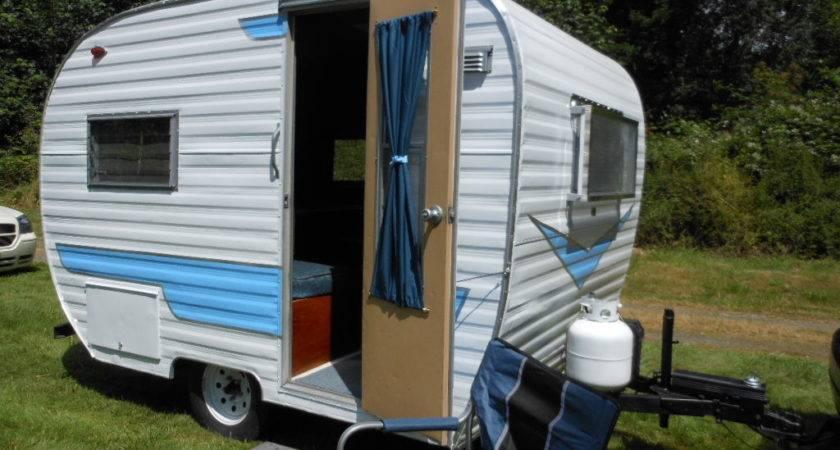 Vintage Camper Trailer Sale Tent Idea