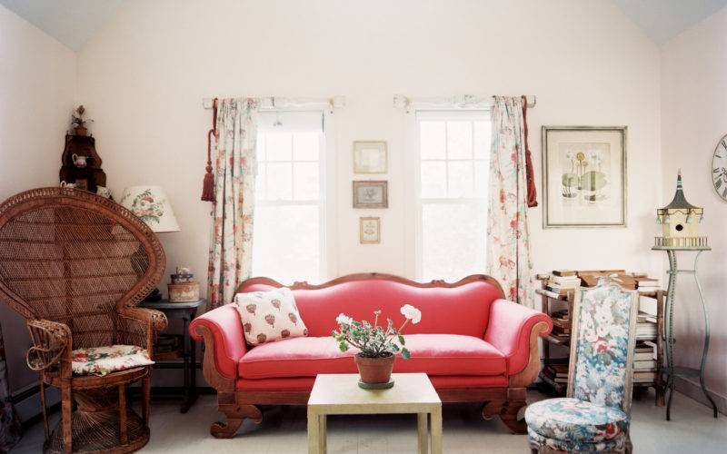 Vintage Living Room Photos