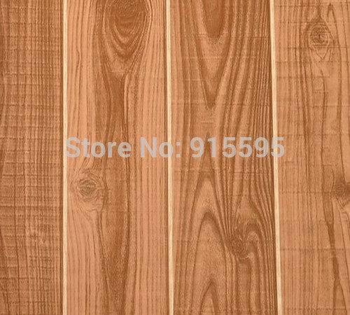 Vintage Nature Wood Fiber Pvc Waterproof Modern Design