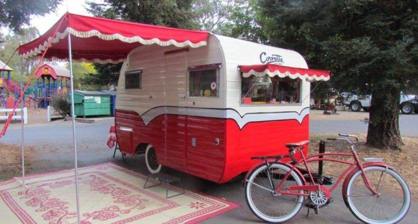 Vintage Today Throwback Thursday Campers