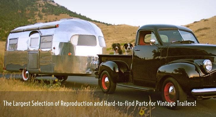 Vintage Travel Trailer Accessories Airstream Restoration