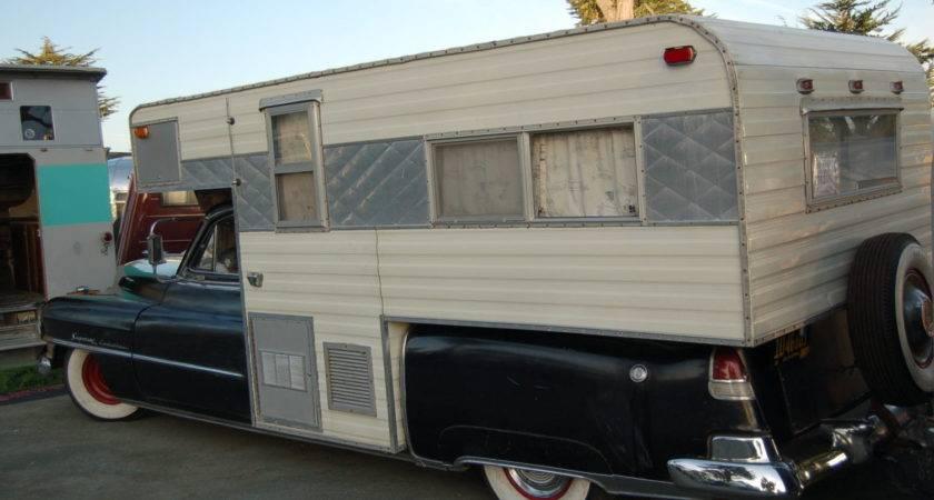 Vintage Truck Based Camper Trailers Oldtrailer