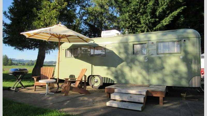 Vintages Trailer Resort Retro Oregon Usa