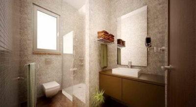 Vinyl Bathrooms Grasscloth