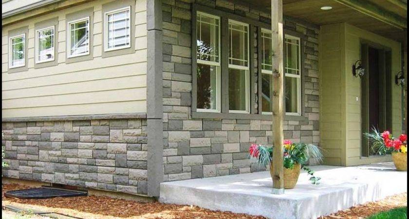 Vinyl Siding Looks Like Stone Home Decorating