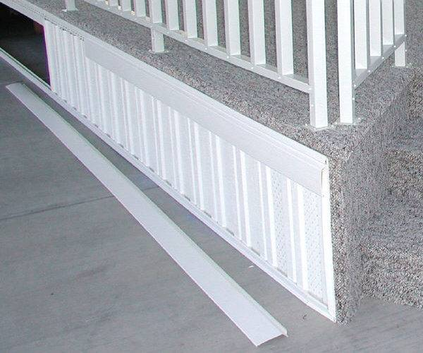 Vinyl Skirting Installation