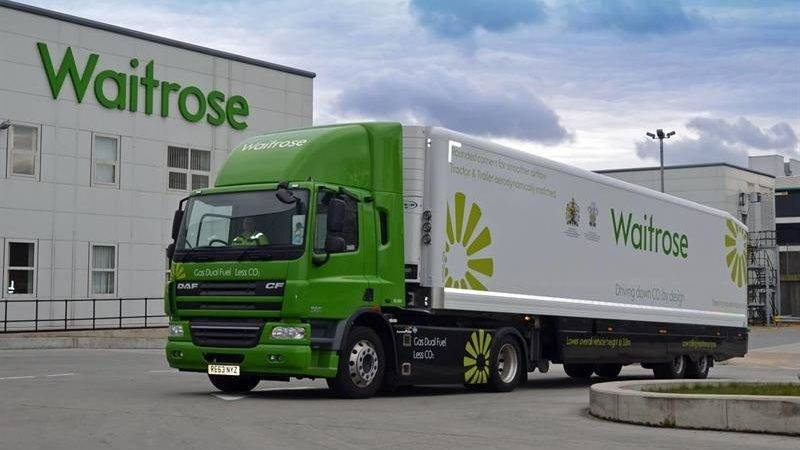 Waitrose Cashes Gray Adams Trailers