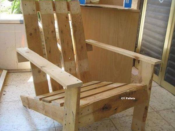 Want Some Chairs Then Can Pallet Wood