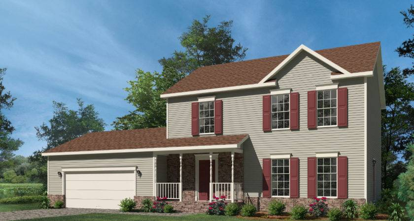 Washington Two Story Style Modular Homes