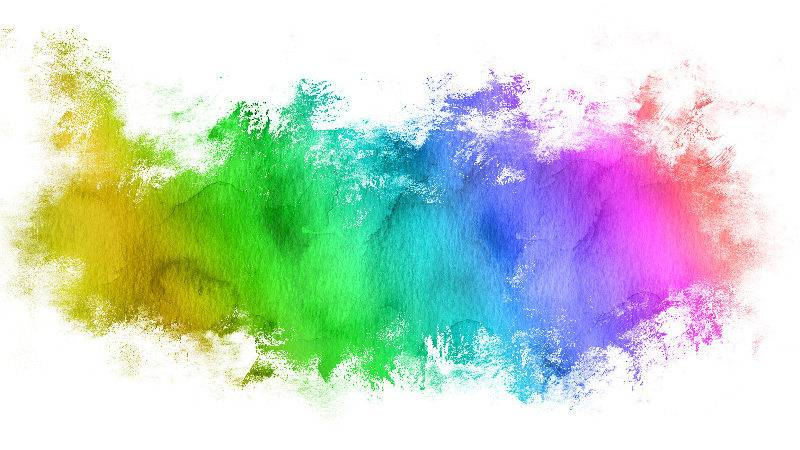 Watercolor Brush Paint Stain Texture Photoshop