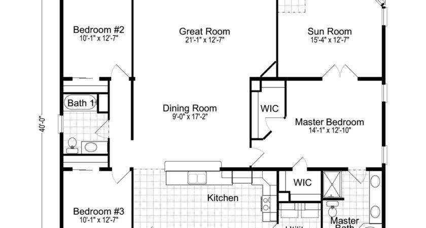 Wellington Manufactured Home Floor Plan Modular