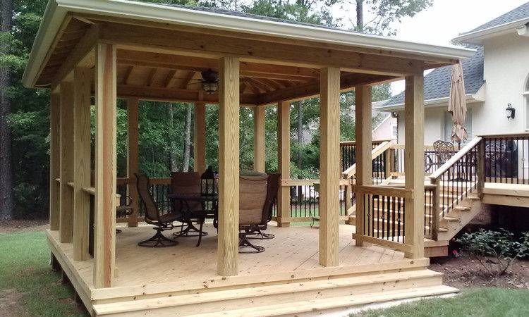 Which Better Attached Open Porch Standing