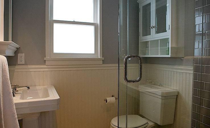 White Beadboard Bathroom Cottage Bhg