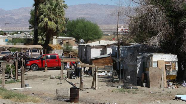 Why Many Americans Live Mobile Homes Bbc News