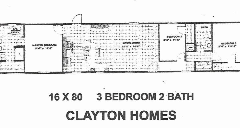 Wide Mobile Home Floor Plans Foot