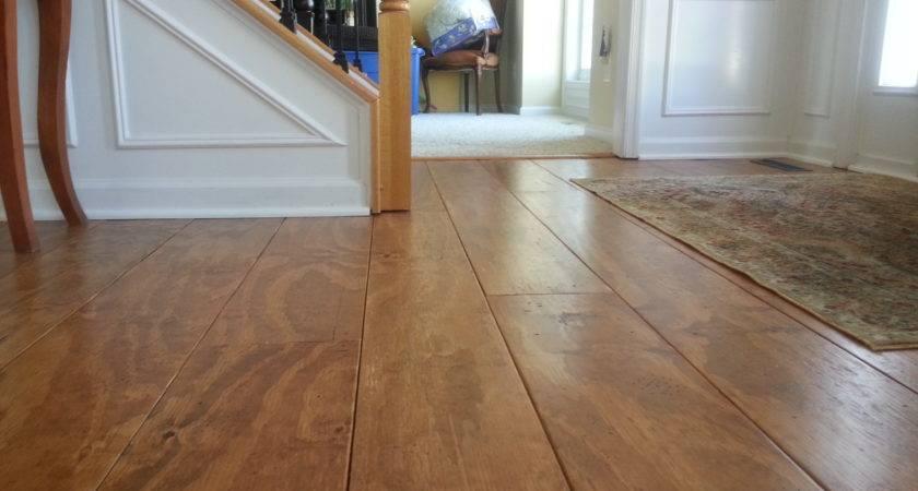 Wide Plank Distressed Pine Flooring Cheap