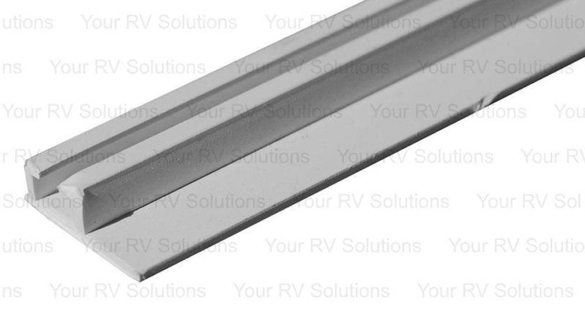 Window Curtain White Ceiling Mount Slide Track