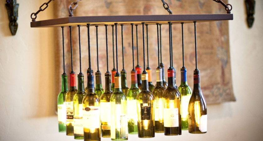 Wine Bottle Chandelier Frame Home Design Ideas