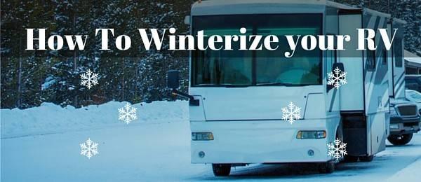 Winterize Mobile Home Winterizing