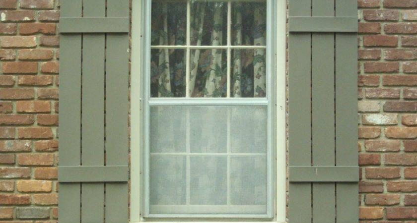 Wonderful Exterior Window Shutters Enhance