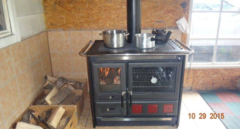 Wood Burning Cook Stove Nordica Rosa Xxl