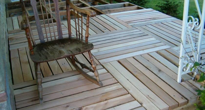 Wood Pallet Deck Ideas Home Design