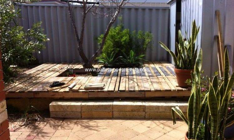 Wood Pallet Deck Ideas Projects