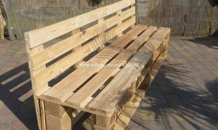 Wood Pallet Garden Bench Ideas Projects