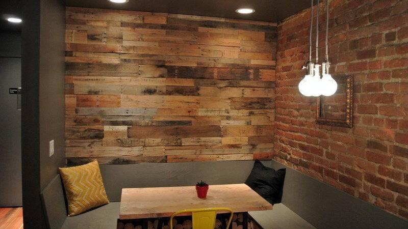 Wood Pallet Wall Panels Modern Reclaimed Design