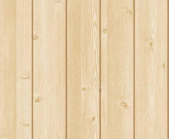 Wood Panel Brown Self Adhesive Vinyl Wall