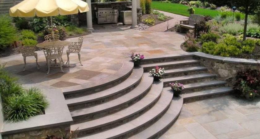 Wood Patio Steps Ideas Home Design