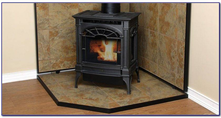Wood Stove Floor Protection Mats Flooring Home Design