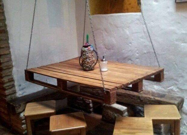 Wooden Pallet Made Table Ideas Recycled