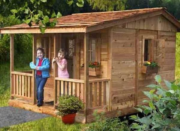 Woodwork Diy Pallet Playhouse Plans Pdf