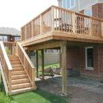 Woodwork Elevated Deck Plans Pdf