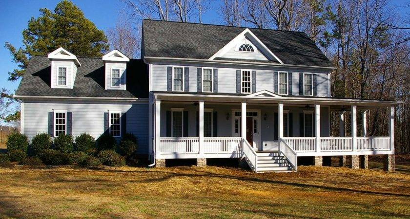 Wrap Around Front Porch Addition Home Ideas